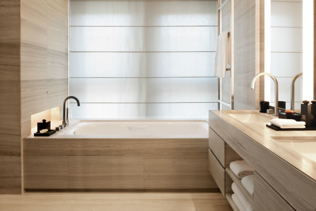 Badezimmer Armani Hotels