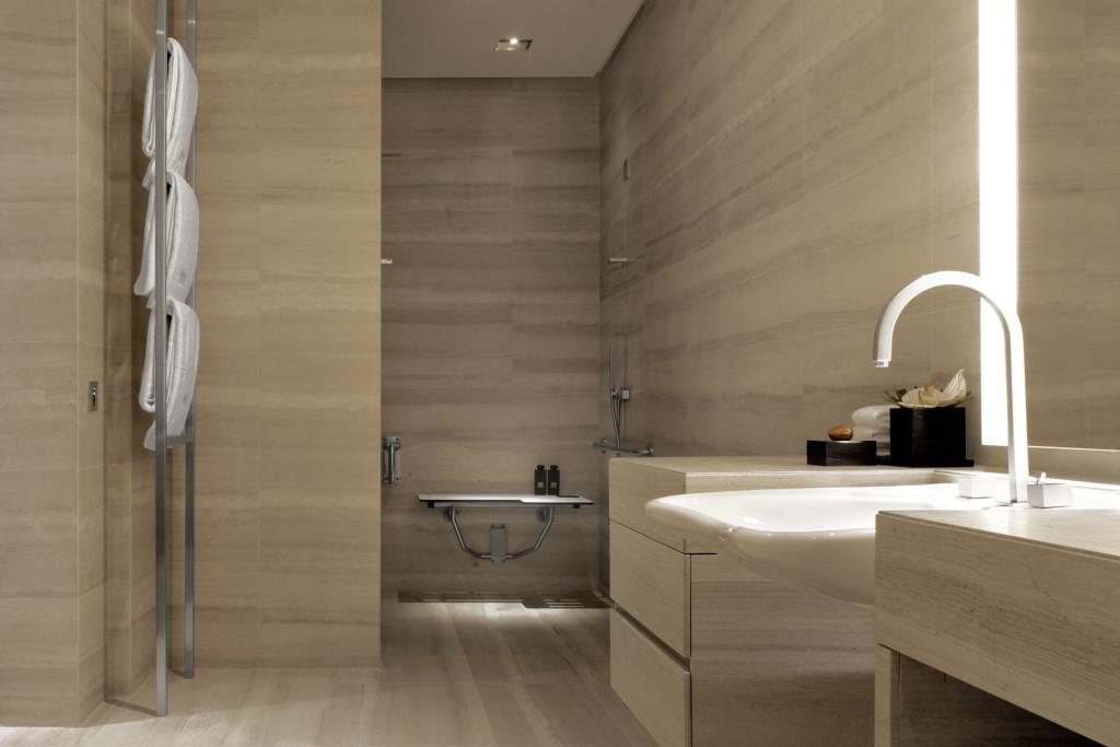 Badezimmer Armani Hotel