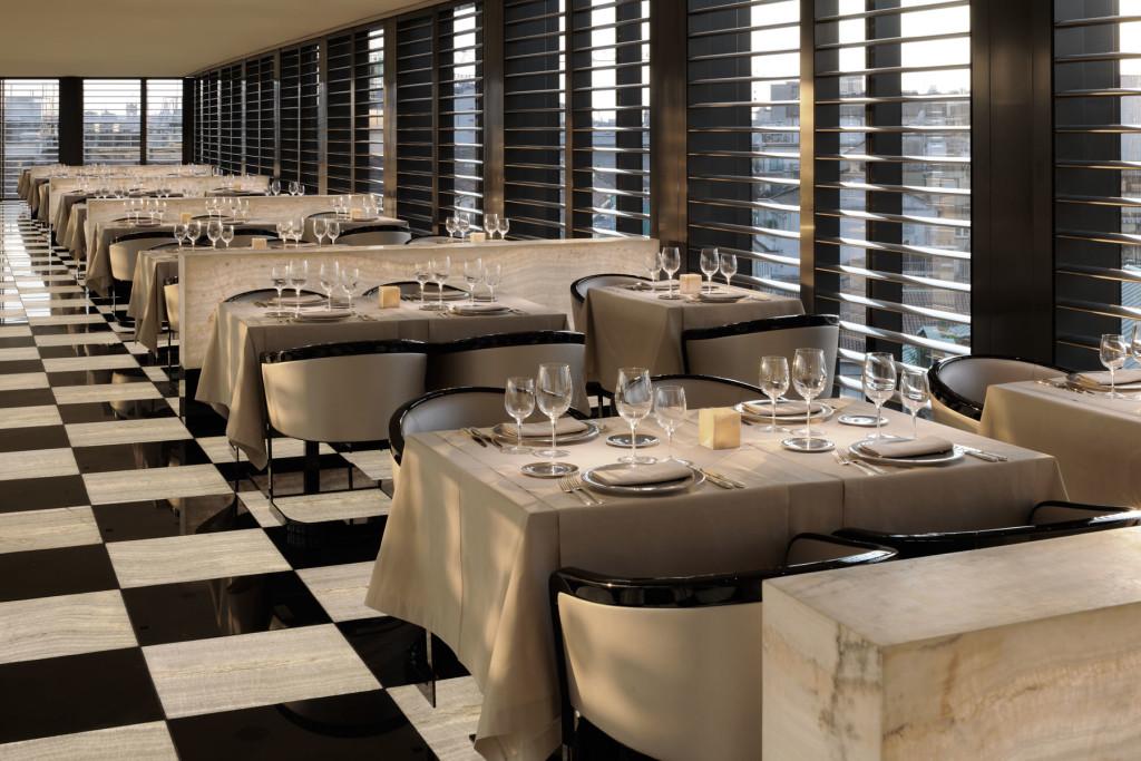restaurant armani hotel