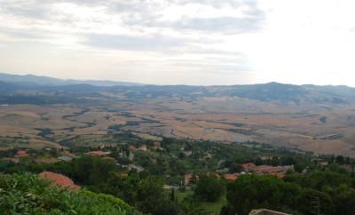 Volterra Toskana nonsoloamore Ausblick