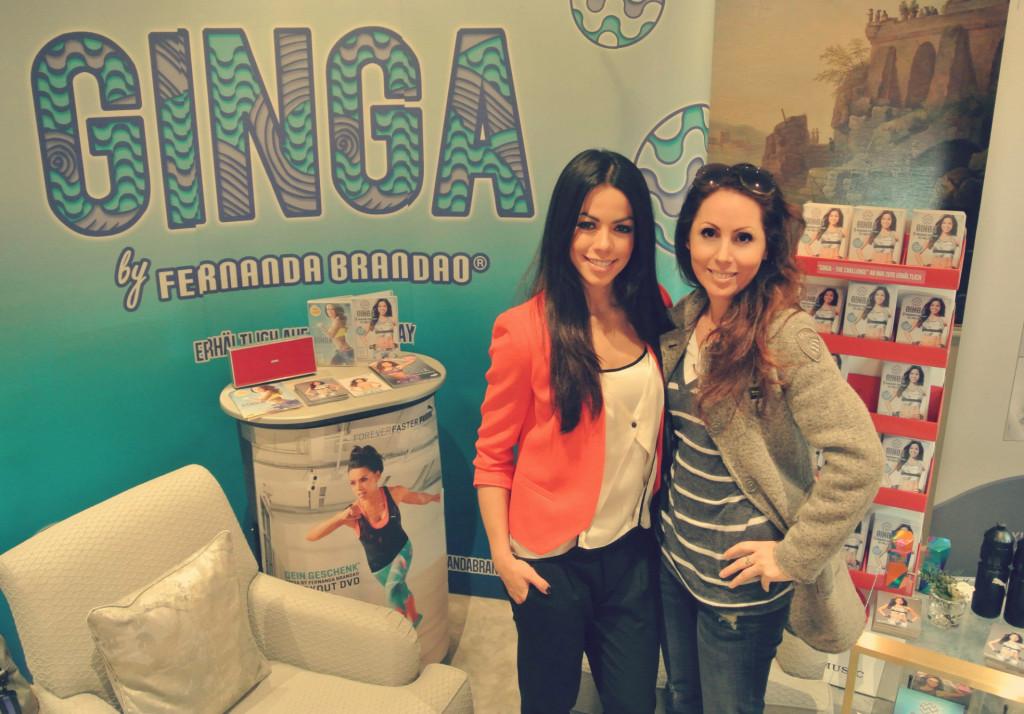 Fernanda Brandao im Interview