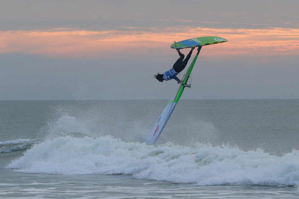 Watersports / Davidoff Cool Water Windsurf World Cup 2015 / 25.09.- 04.10.2015 +++ www.hoch-zwei.net +++ copyright: HOCH ZWEI /Joern Pollex +++