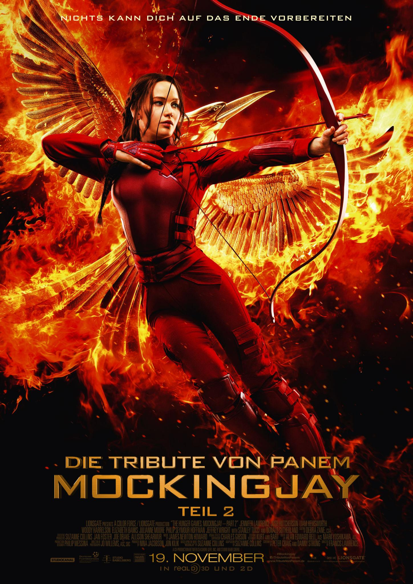 The big finale in Berlin – Hunger Games Mockingjay II