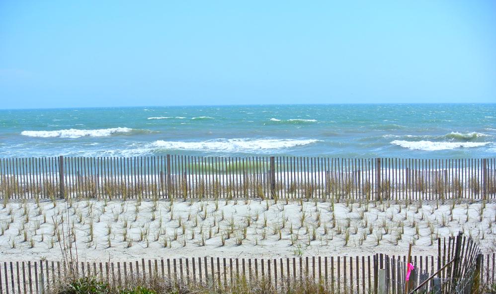 Topsail North Beach View