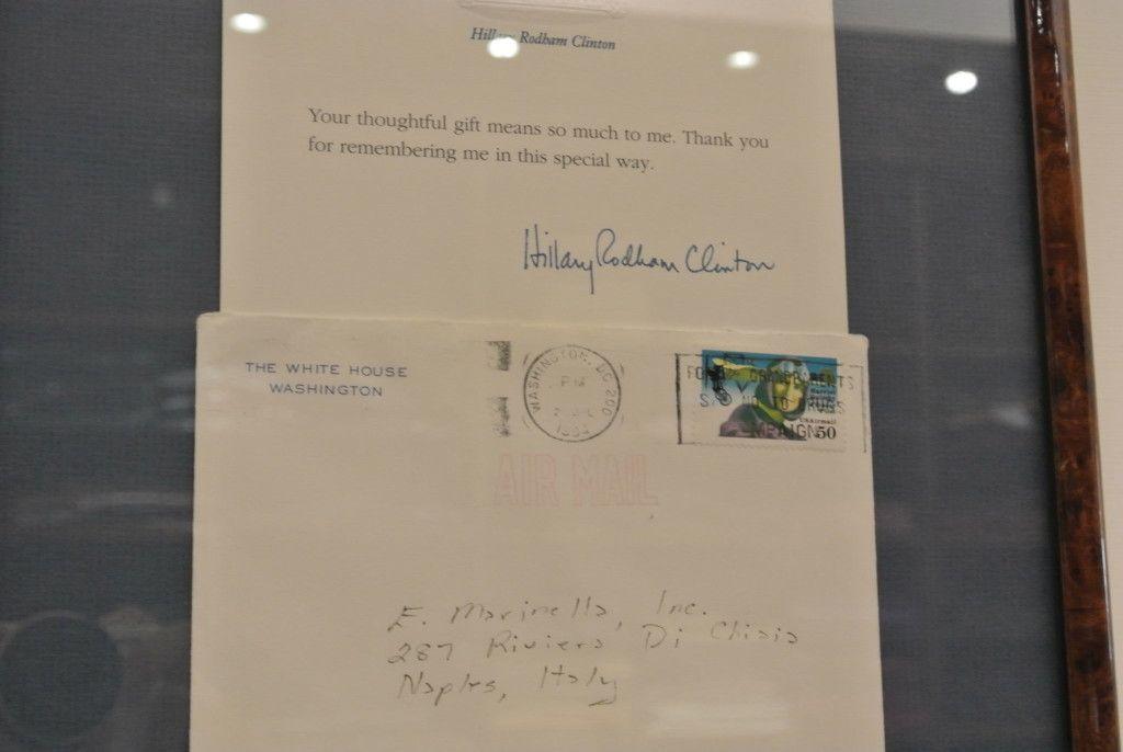 Hilary Clinton Dankesbrief reiht sich an viele Dankesbriefe aus aller Welt