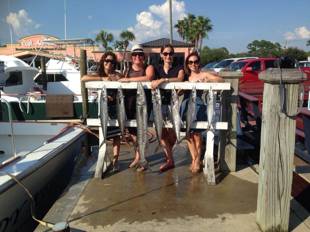Katrin, Nicole, Annika und ich (v. links)