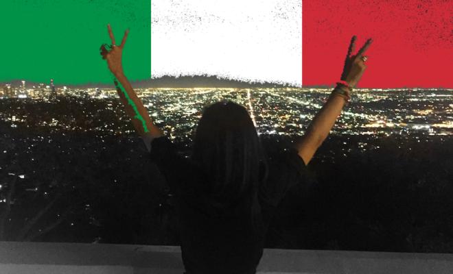 Italienische Männer verliebt