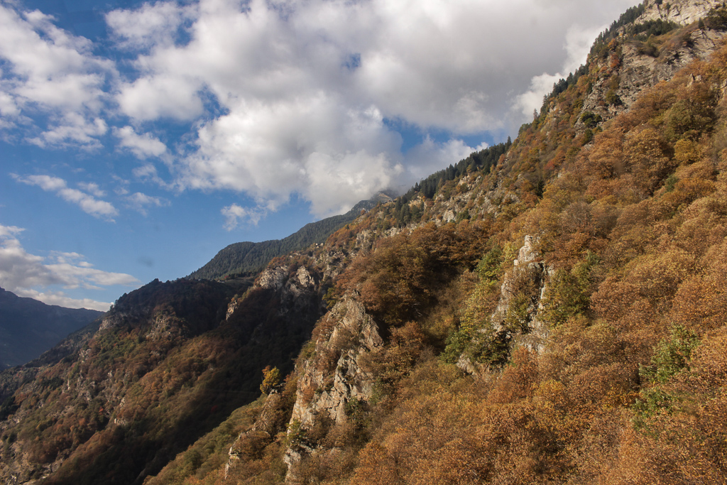 Indian Summer in Tessin