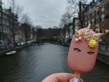 Essen in Amsterdam