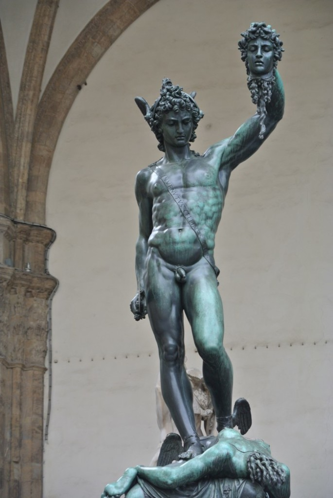 Firenze Perseus Piazza delle Signoria