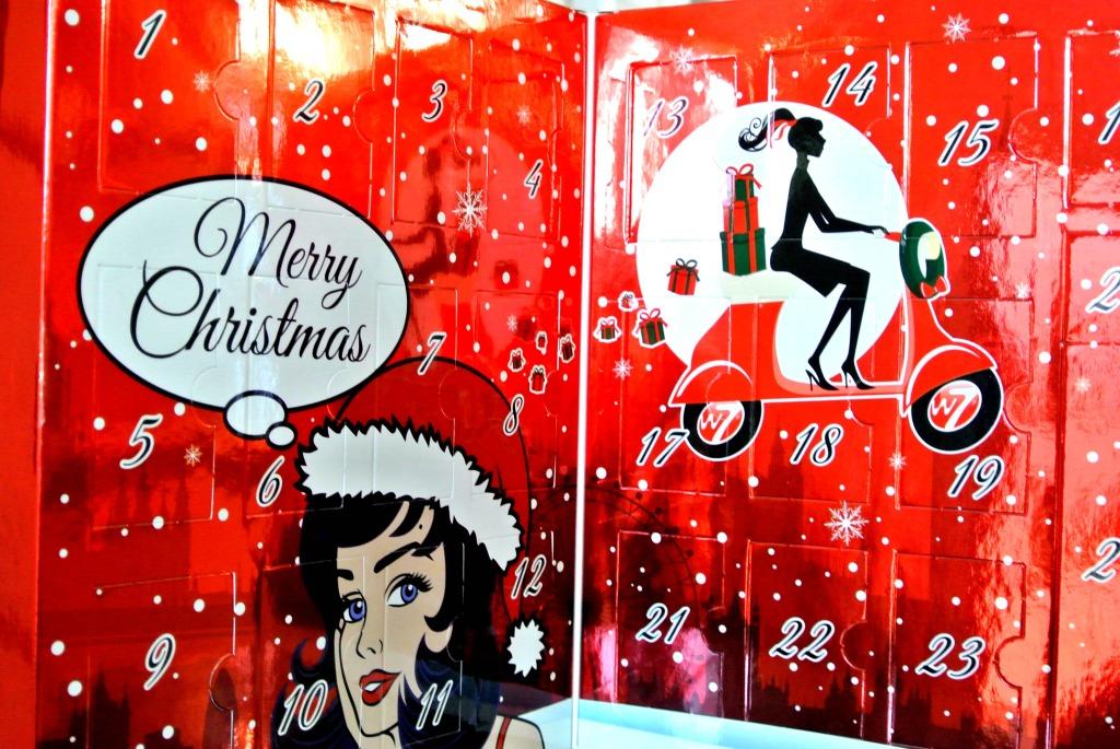 weihnachtskalender w7 Kosmetik Vorschlag nonsoloamore