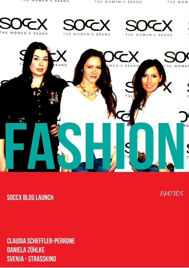DANIELA,SVENJA, CLAUDIA fashion week soccx