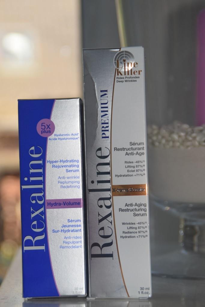 Rexaline Anti Aging Test gegen Falten