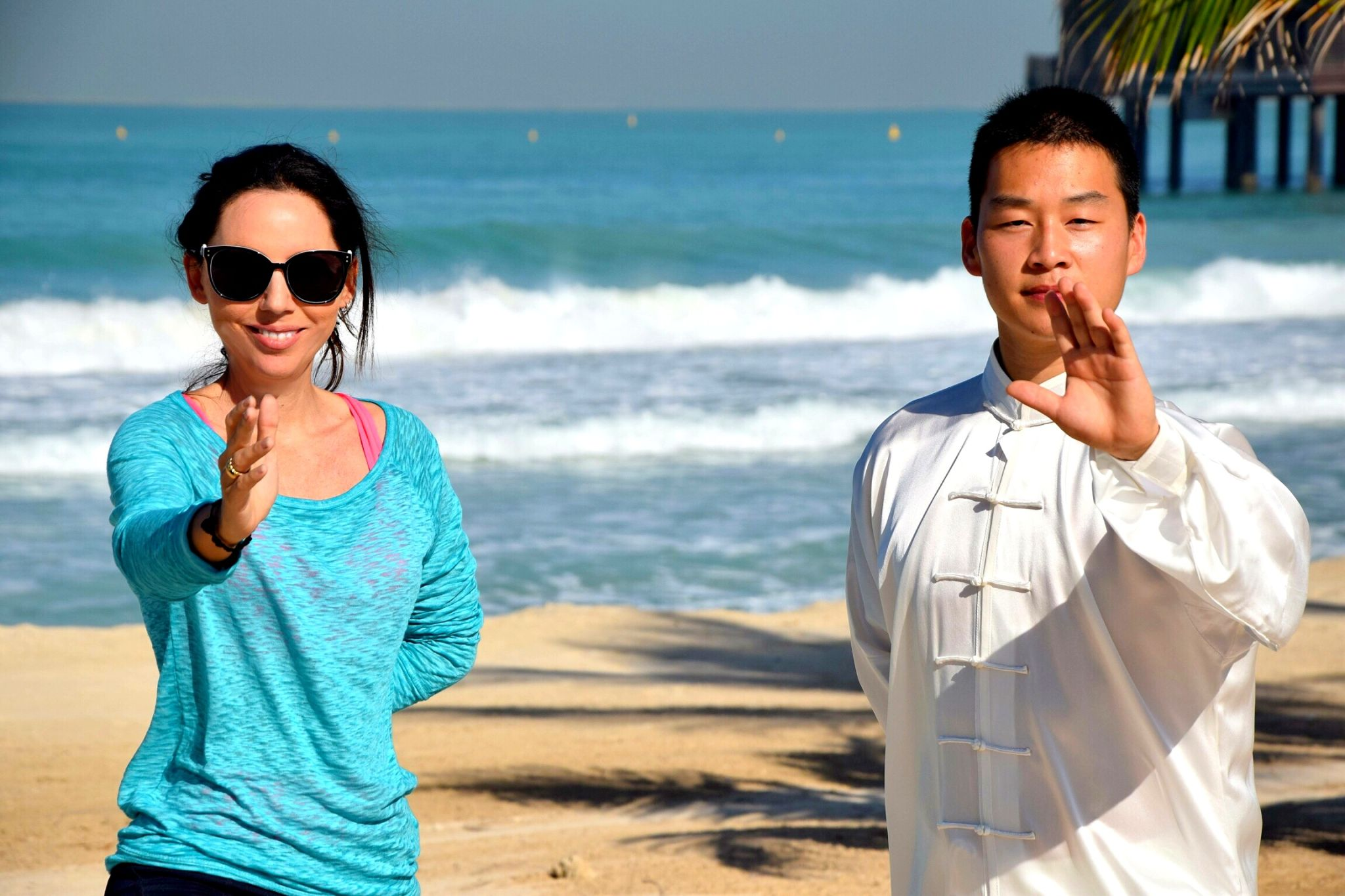 Tai Chi Holidays in Dubai with Master Can