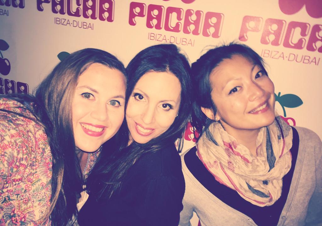 Anna, Claudia, Mi Hae