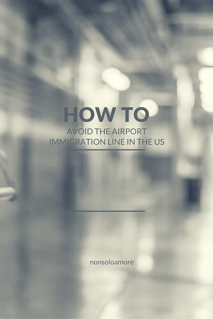 How to avoid the line at the airport immigration in the US with an App