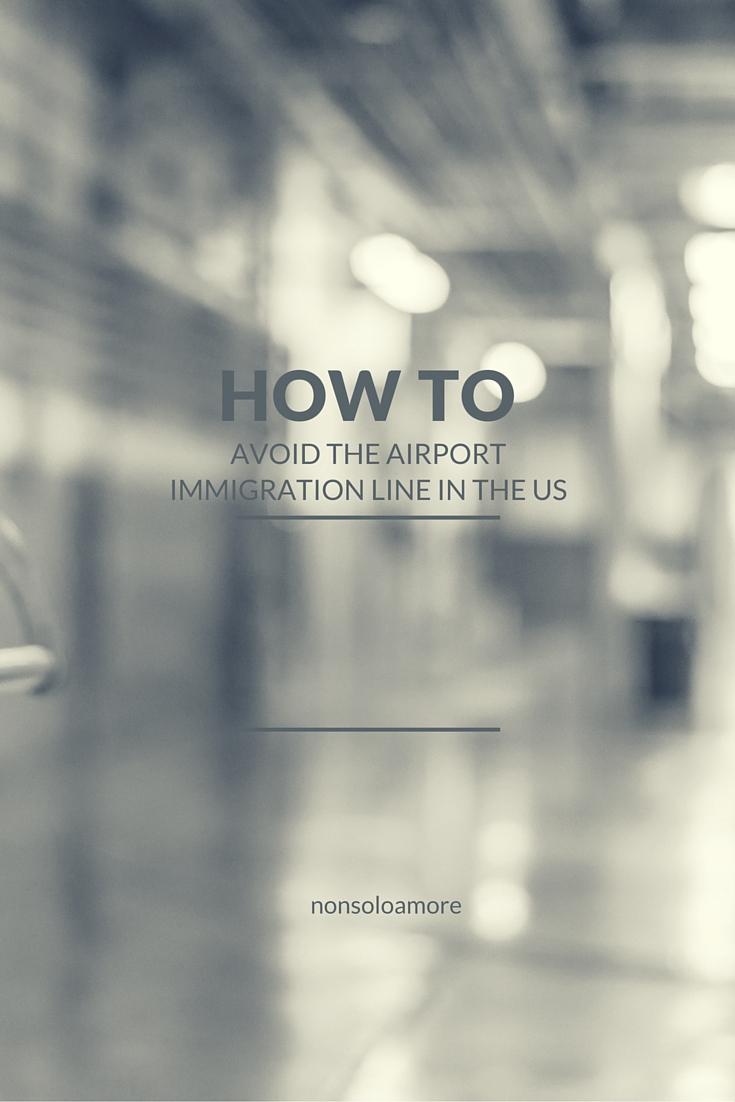Wie man die Warteschlange bei der Einreise in die USA vermeiden kann