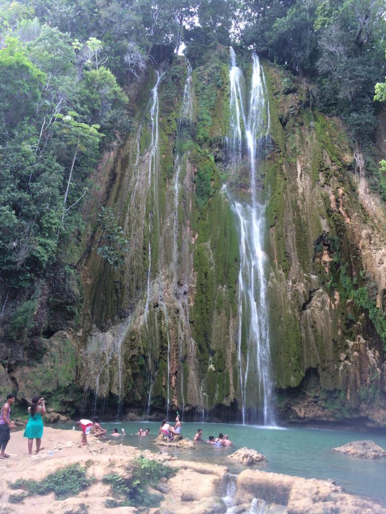 El Salto del Limon Republica Dominicana © Viaje Comigo