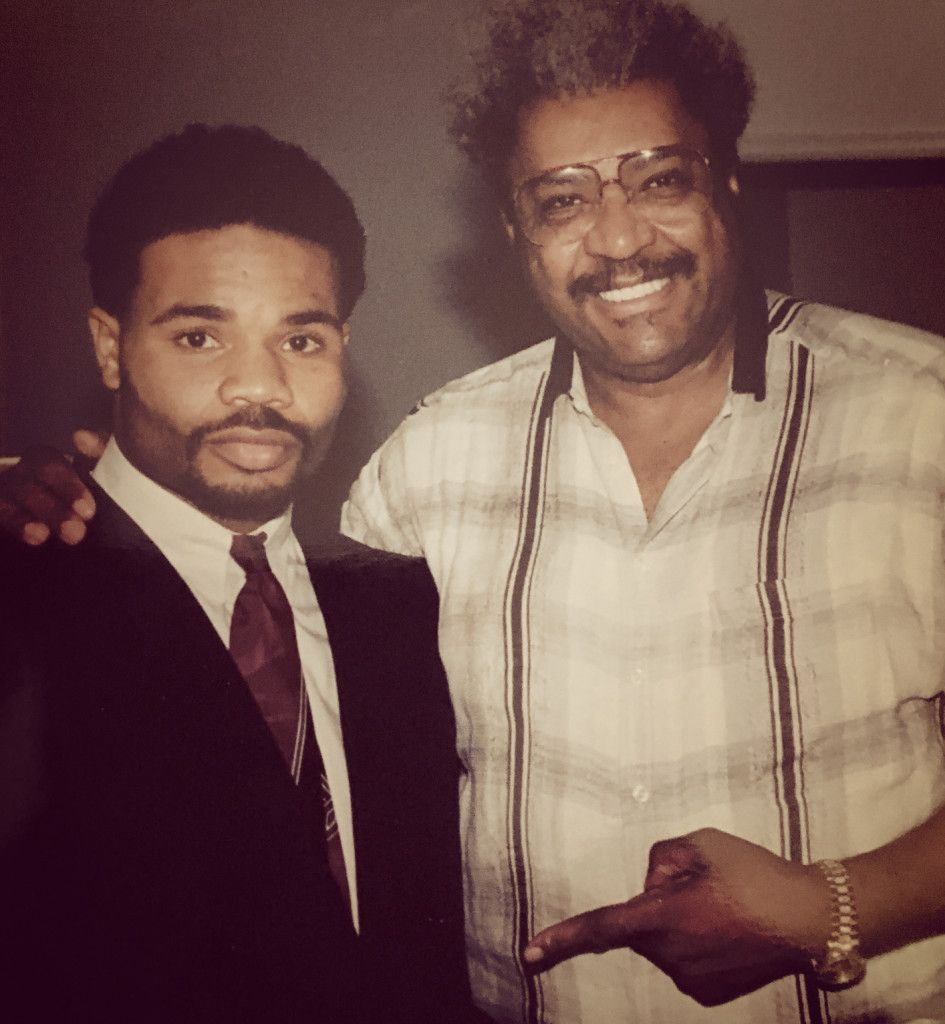 First signed contract with Don King as a promoter