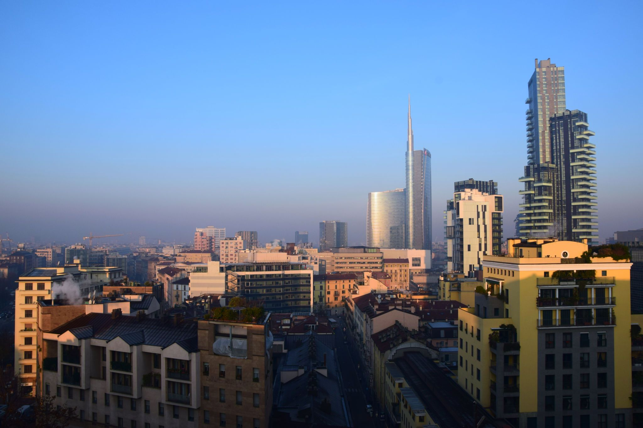 Over the roofs – Milan from above