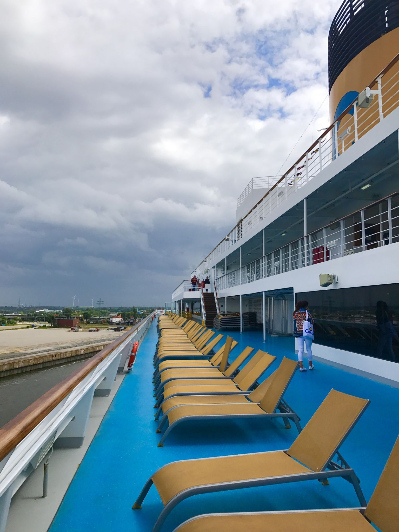 Kurztrip auf dem Kreuzfahrtschiff
