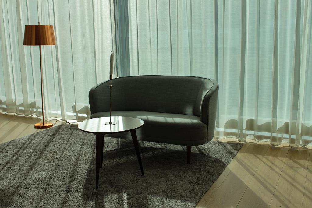 Im Hotelzimmer in Växjö