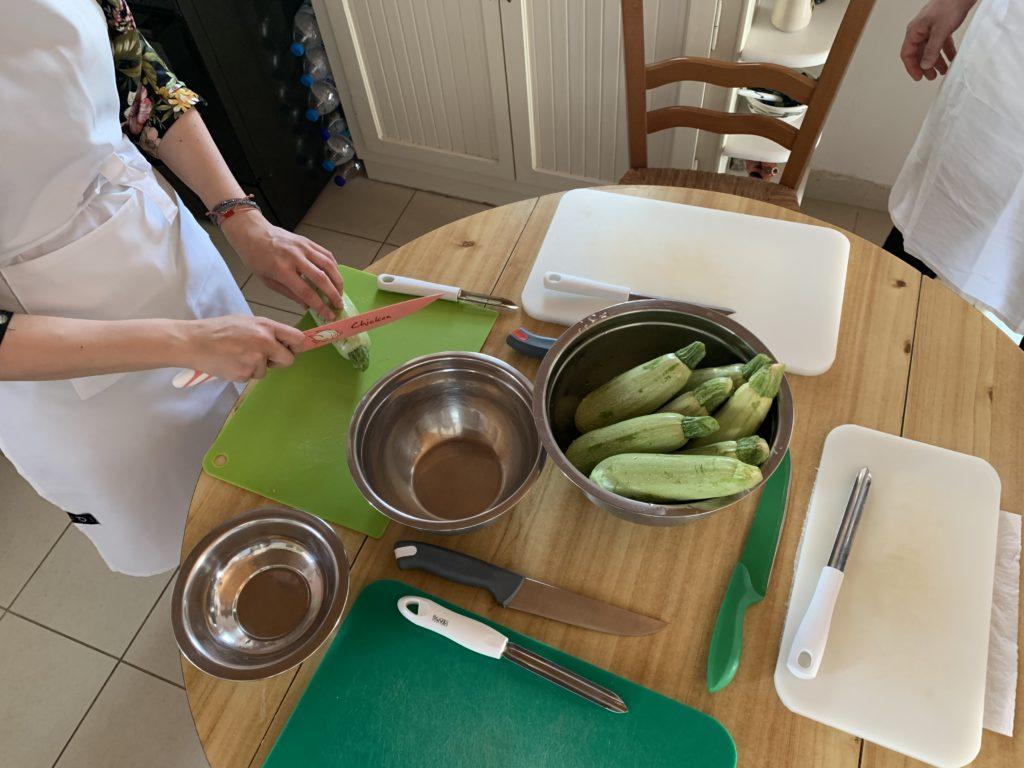 kochen auf Naxos