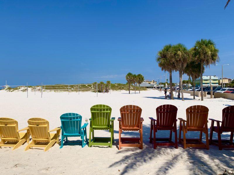St. Petersburg und Clearwater Beach in Florida