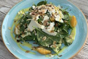 Griechisches Essen auf Andros
