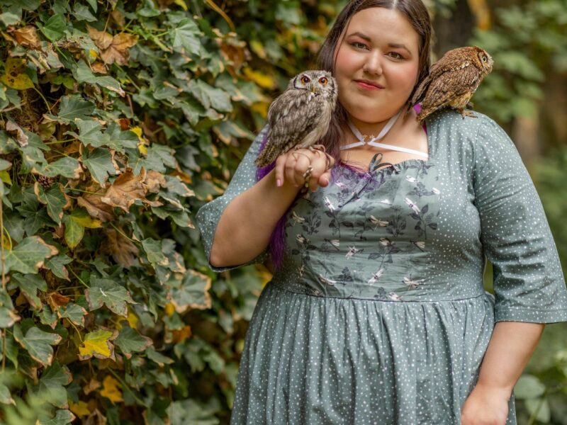 Shooting with owls – every millennial's dream?