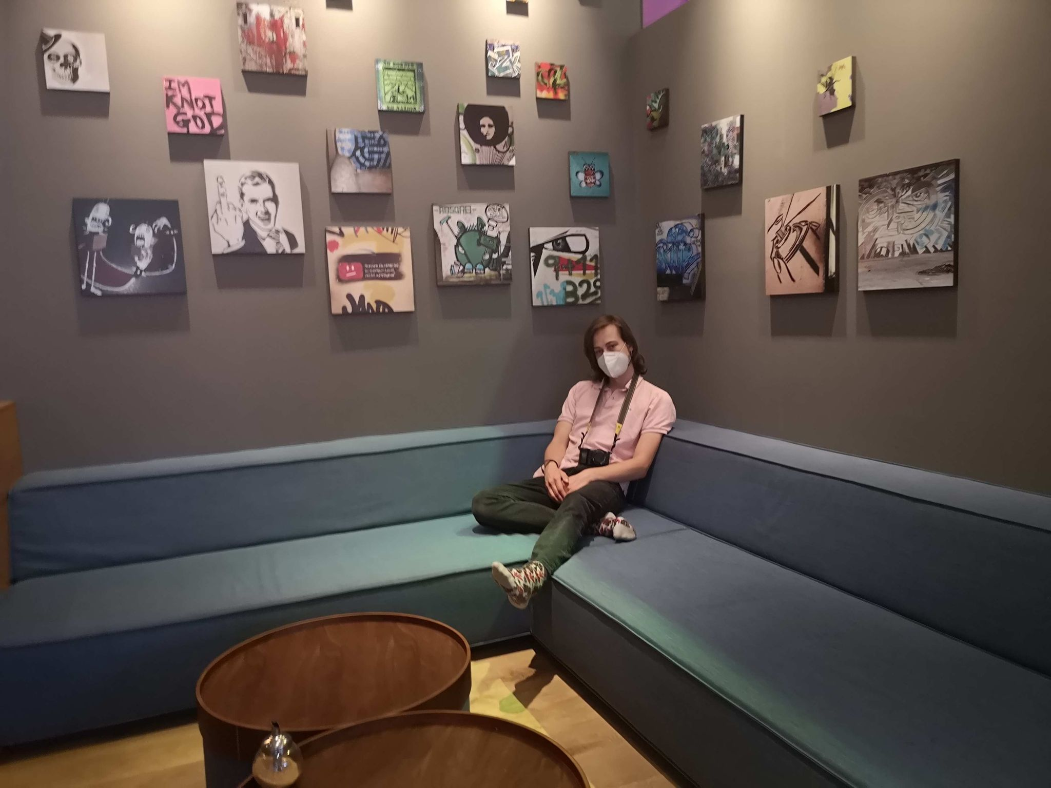 Sitzecke in der Lobby/Bar