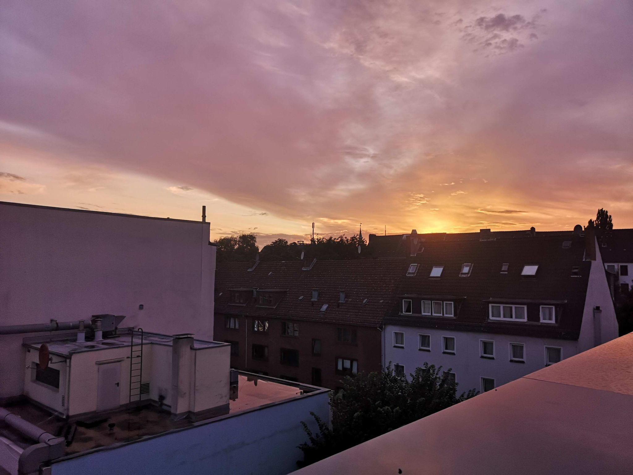 Blick vom Rooftop