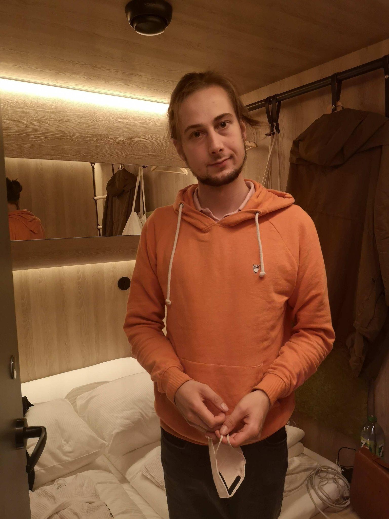 Mein Mann in der Cabin